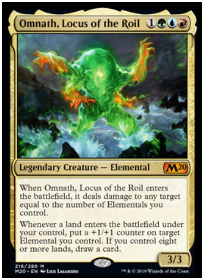 Omnath, Locus of the Roil Core Set 2020 MTG