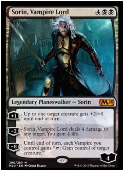Sorin Vampire Lord MTG Core Set 2020