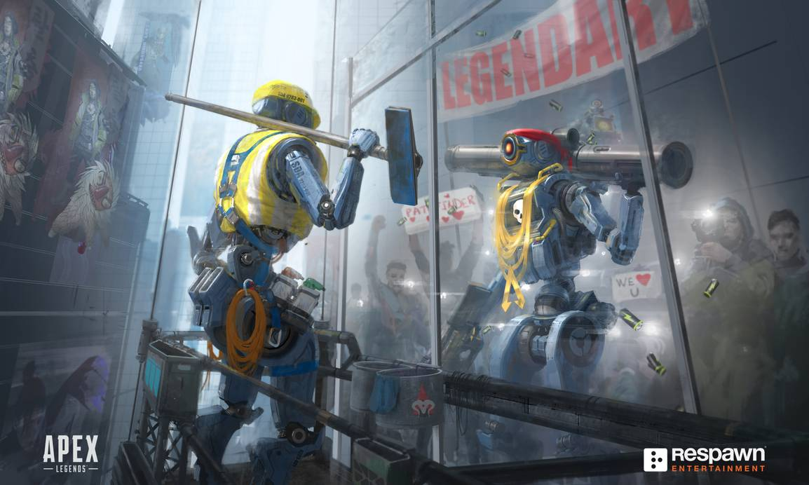 Data mining and concept art could hint at new sword-wielding legend coming to Apex Legends for Season 2