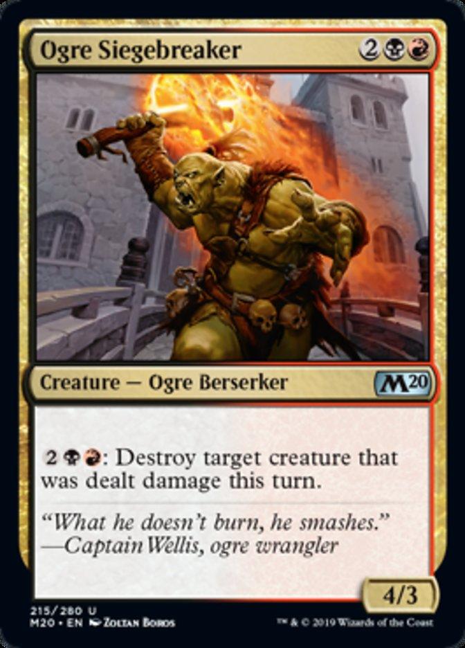 Ogre Siegebreaker Magic Core Set 2020