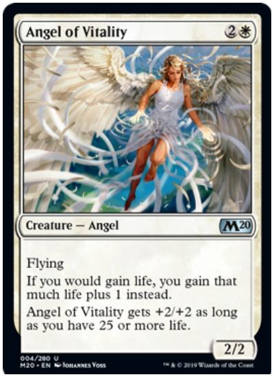 Angel of Vitality MTG Core Set 2020 White
