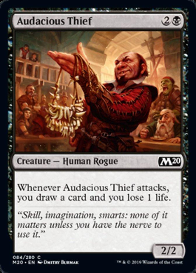 Audacious Thief Magic Core Set 2020
