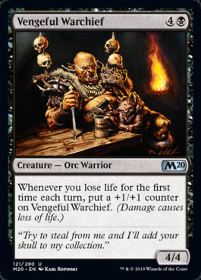 Vengeful Warchief Magic Core Set 2020