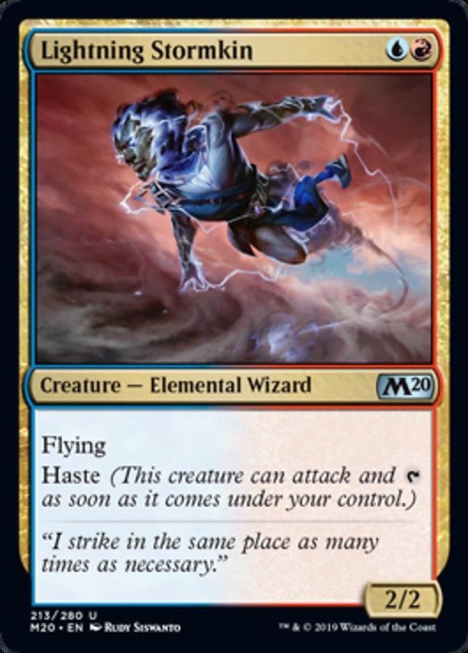 Lightning Stormkin Magic Core Set 2020