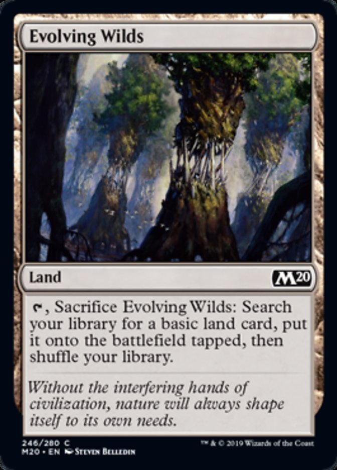 Evolving Wilds Magic Core Set 2020