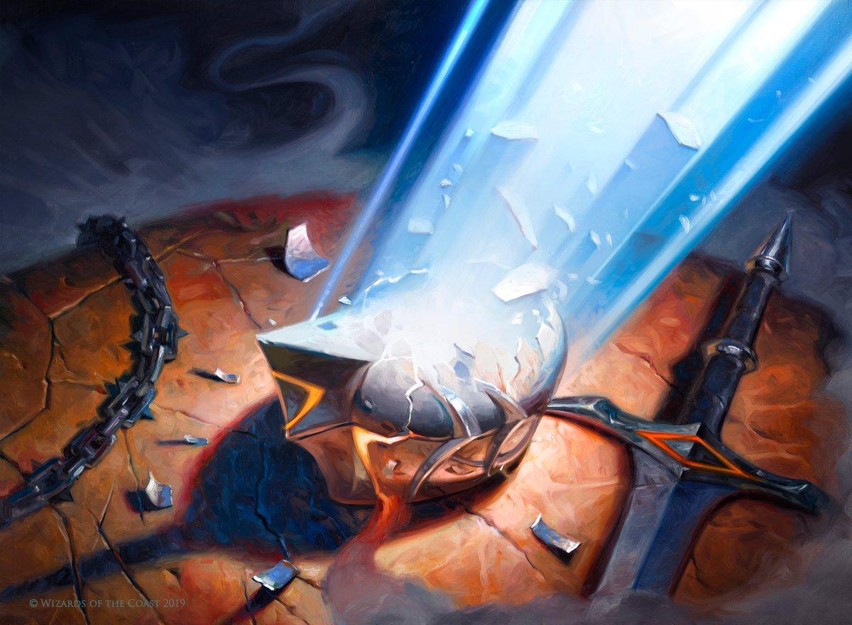 Disenchant Art Magic Core Set 2020