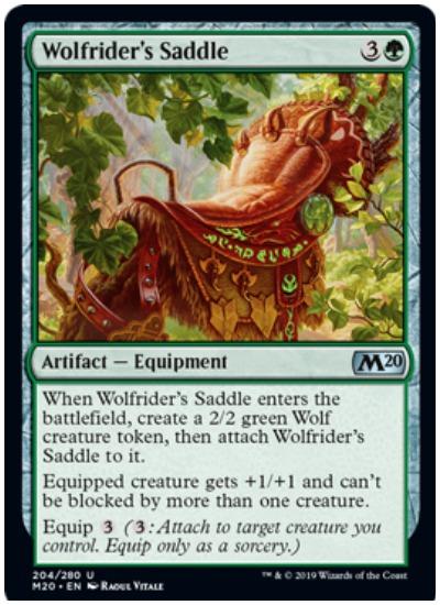 Wolfrider's Saddle MTG Core Set 2020