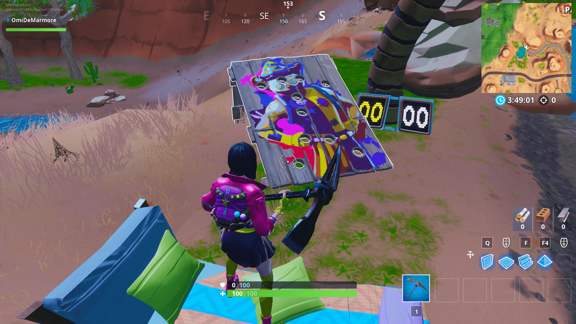 Find Board fortnite: all carnival clown board locations (14 days of