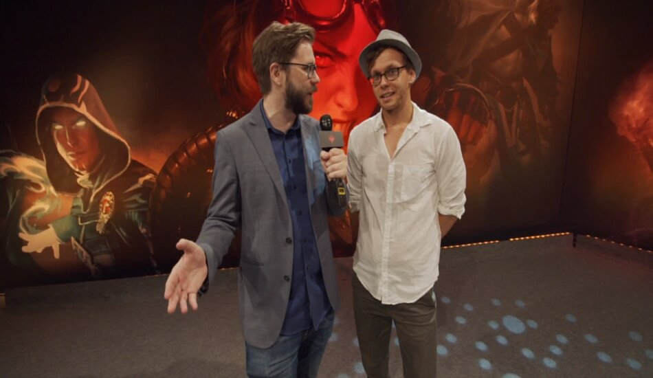 Arnaud Hocquemiller goes undefeated at Magic the Gathering Mythic Championship day one