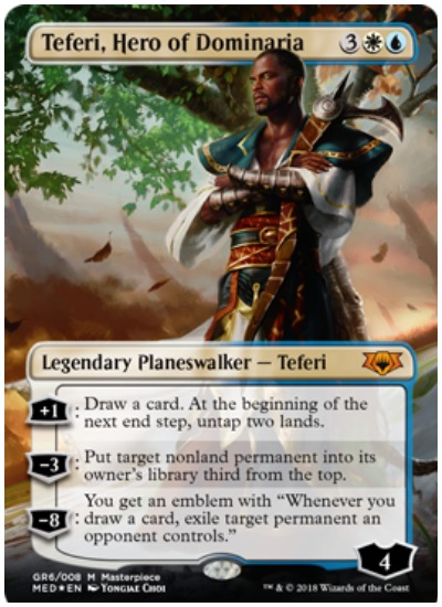 Teferi, Hero of Dominaria MTG