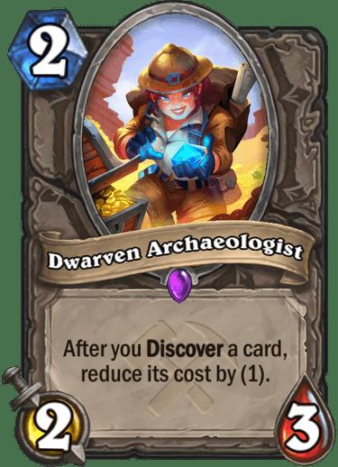 Dwarven Archaeologist