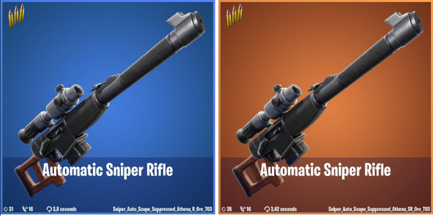 Best Spot To Get A Sniper In Fortnite Fortnite Is Getting An Automatic Sniper Rifle Data Miners Find Dot Esports