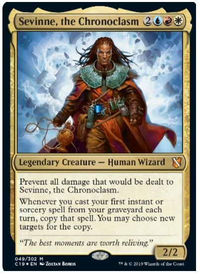 Sevvine, the Chronoclasm Commander 2019 MTG