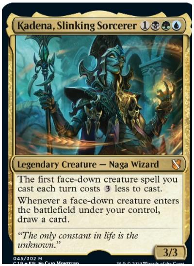 Kadena, Slinking Sorcerer Commander 2019 MTG