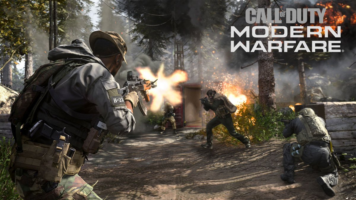 Call Of Duty Modern Warfare S Pc File Size Will Be Smaller At Launch Dot Esports