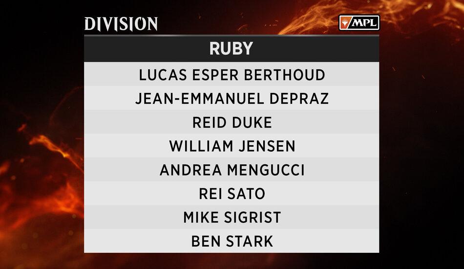 Ruby Division MPL Weekly MTG