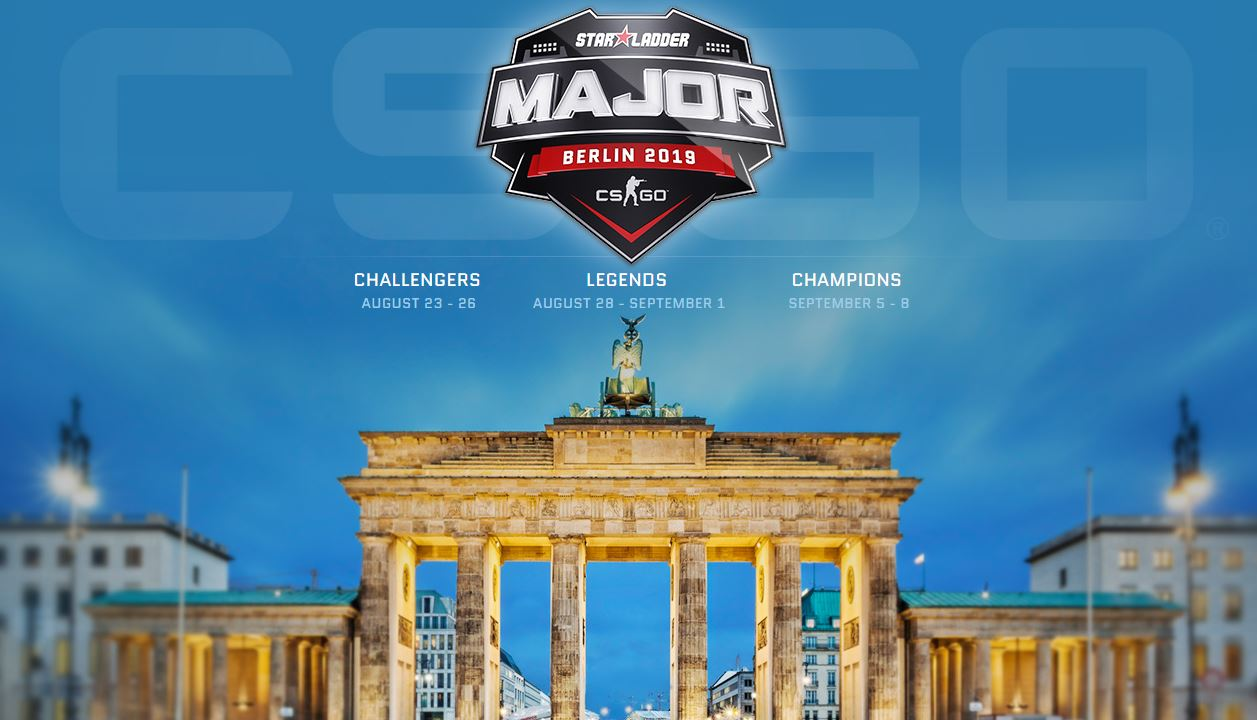 Stickers for the StarLadder Berlin Major are now available