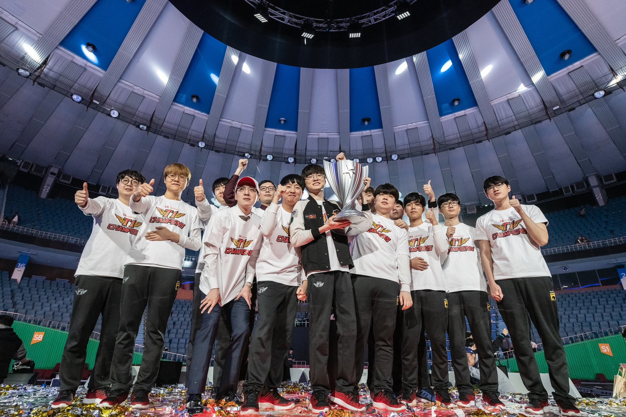A little bit of Effort has made all the difference for SKT
