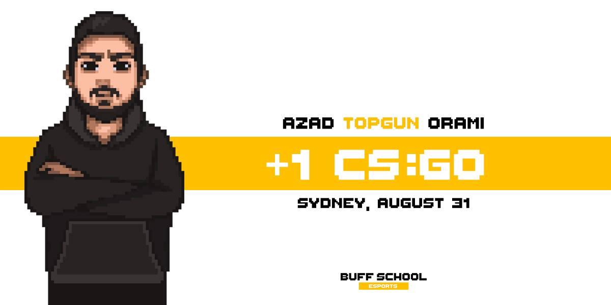 Topgun is hosting his own CS:GO masterclass with Buff School