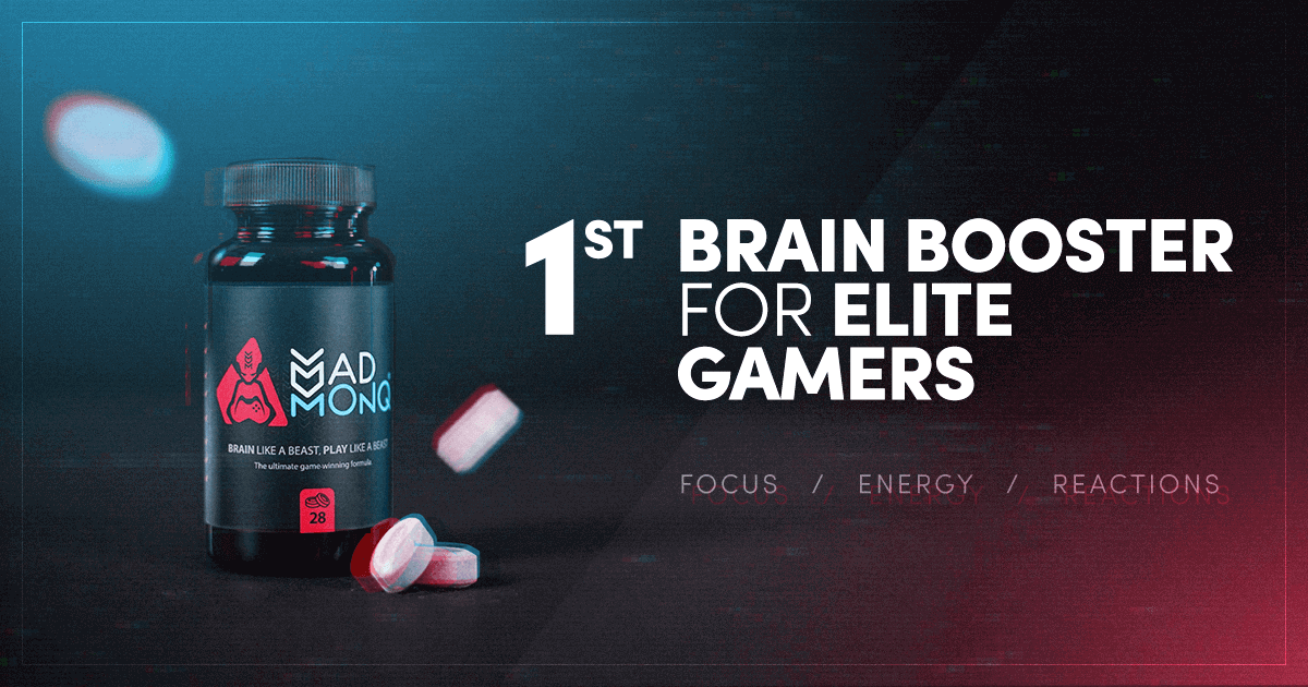 MADMONQ's new gaming health supplement will change how you game