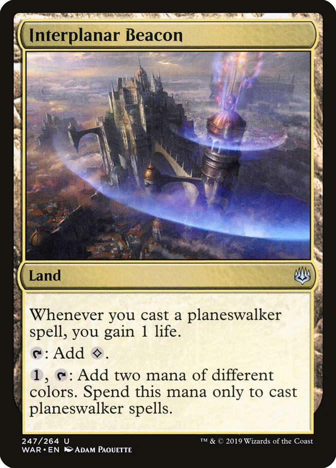 Interplanar Beacon Magic War of the Spark