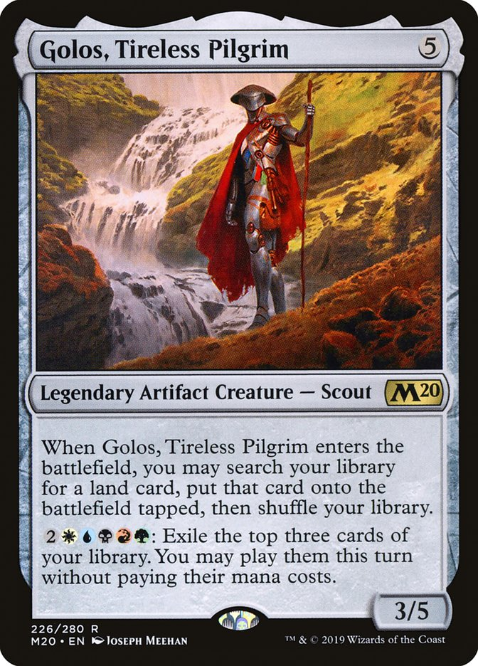 Golos Tireless Pilgrim Magic Core Set 2020