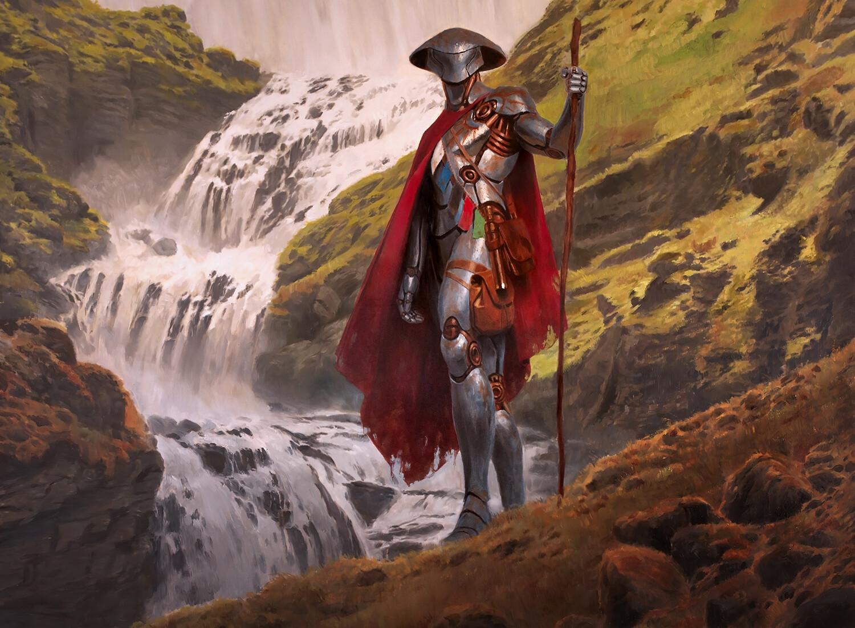 Golos Tireless Pilgrim Art Magic Core Set 2020