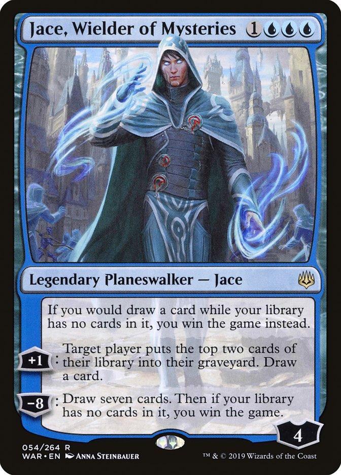 Jace Wielder of Mysteries Magic War of the Spark