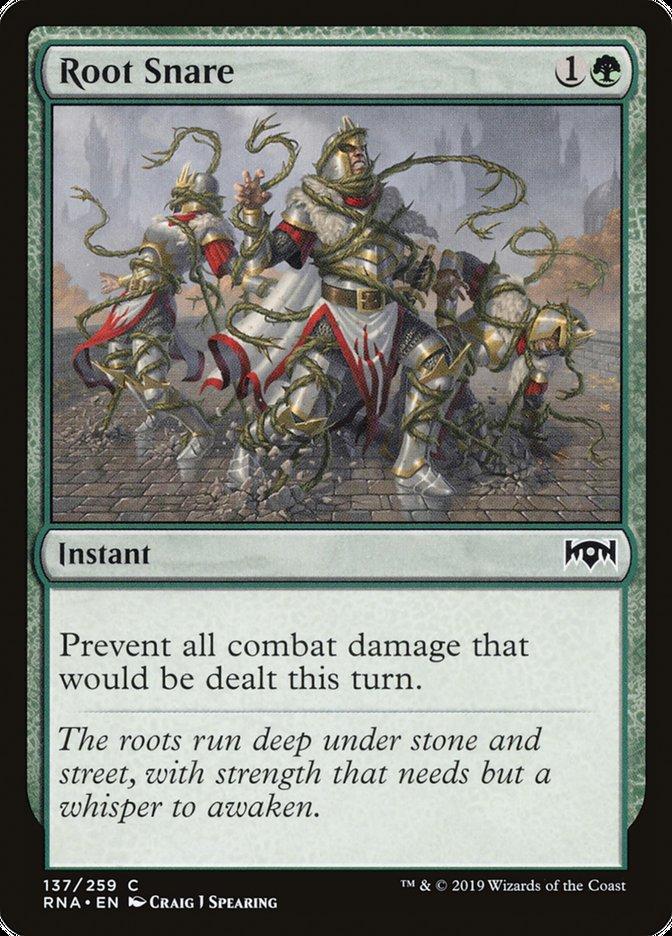 Root Snare Magic Ravnica Allegiance
