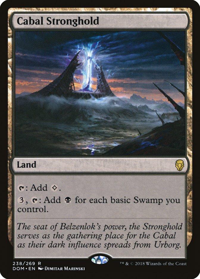 Cabal Stronghold Magic Dominaria