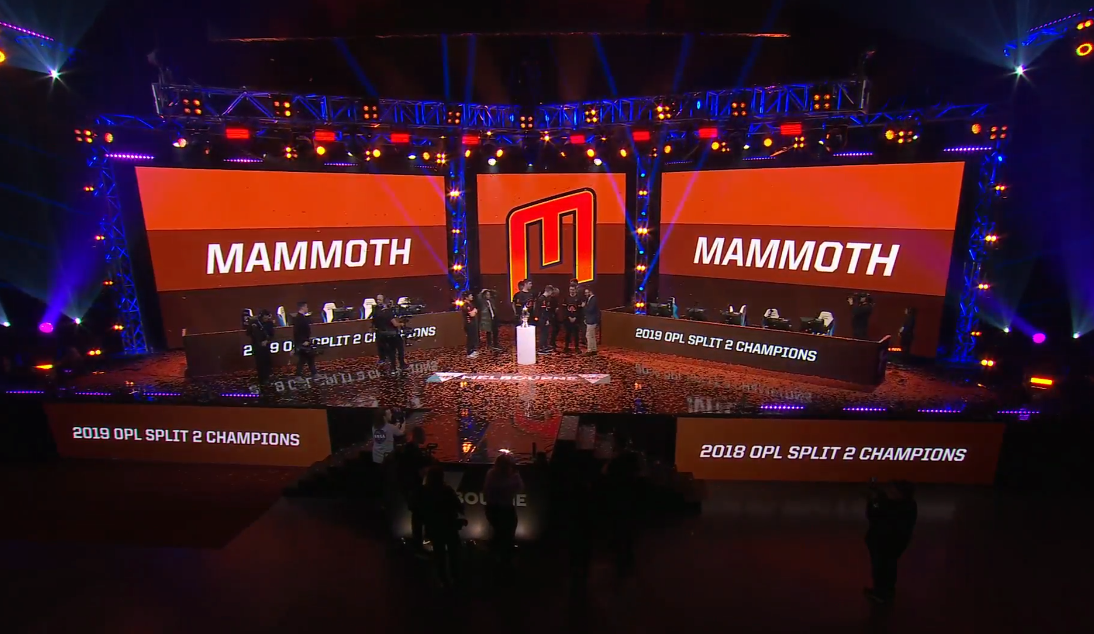 Team Mammoth sweep Chiefs in the OPL finals to secure a spot at Worlds