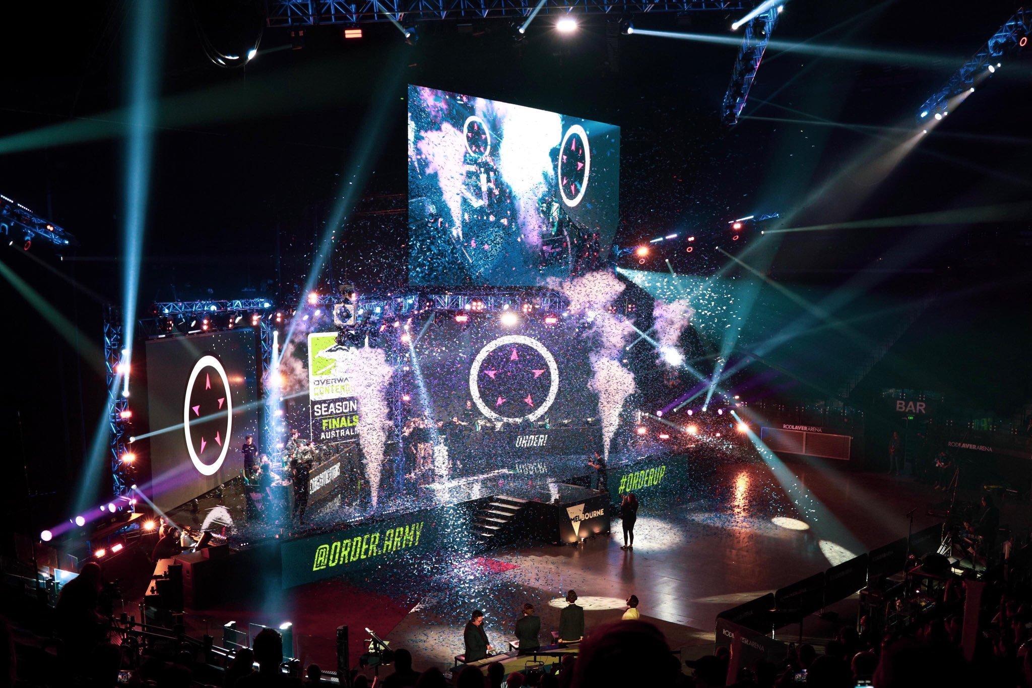 Order crowned champions of Overwatch Contenders Australia 2019 season 2