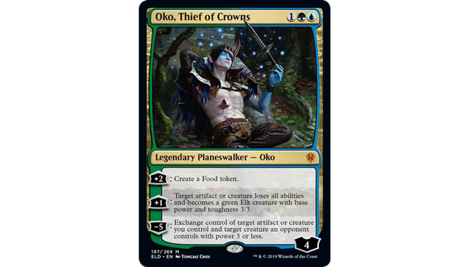 Oko, Thief of Crowns Spoiler Magic Throne of Eldraine