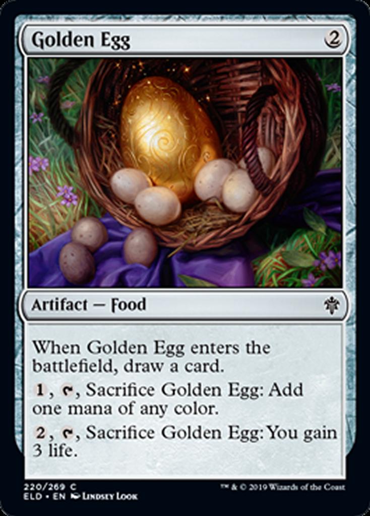 Golden Egg Spoiler Magic Throne of Eldraine