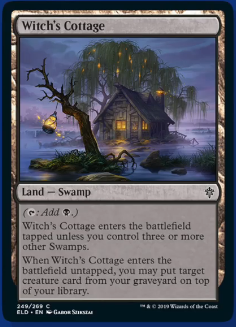 Witch's Cottage Spoiler Magic Throne of Eldraine