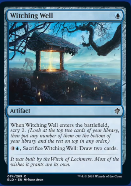Witching Well Spoiler Magic Throne of Eldraine