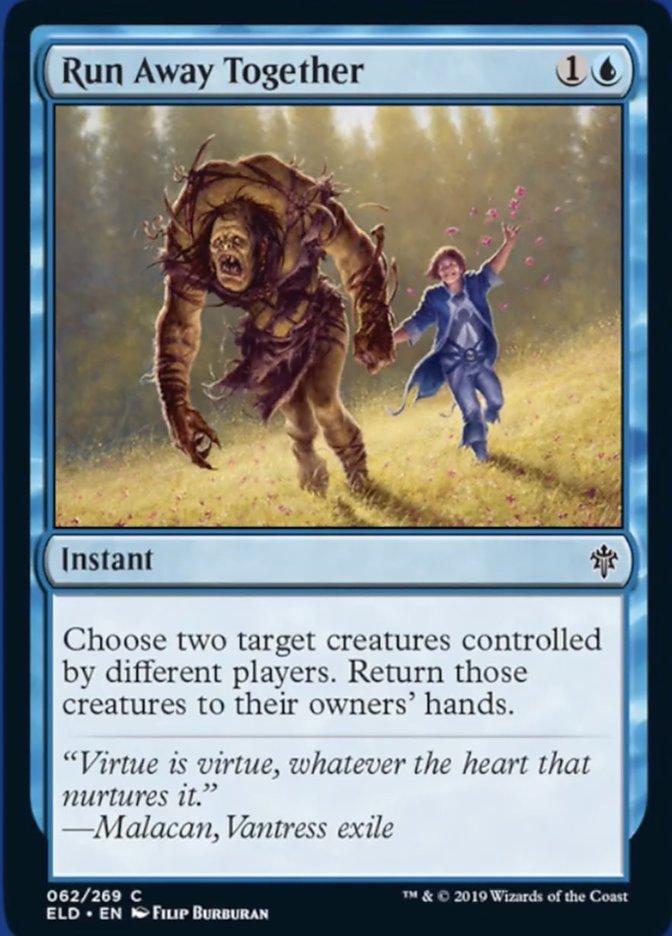 Run Away Together Spoiler Magic Throne of Eldraine