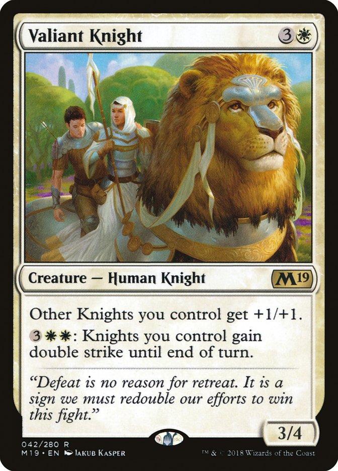 Valiant Knight Magic Core Set 2019