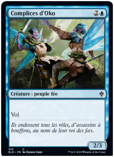 Oko's Accomplices French MTG Throne of Eldraine
