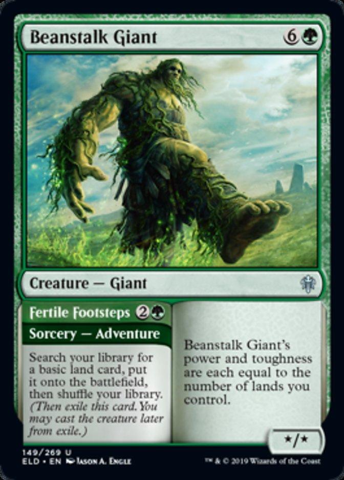 Beanstalk Giant Spoiler Magic Throne of Eldraine