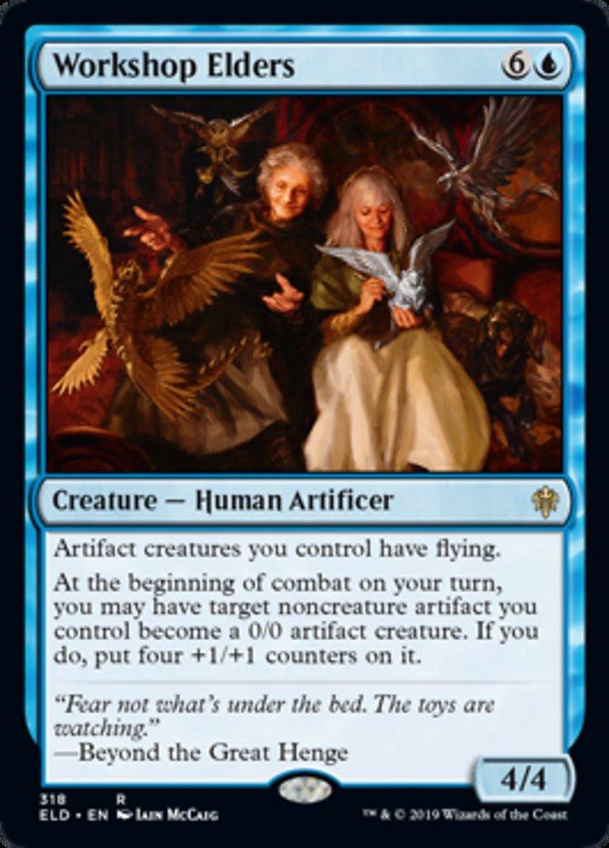 Workshop Elders Spoiler Magic Throne of Eldraine