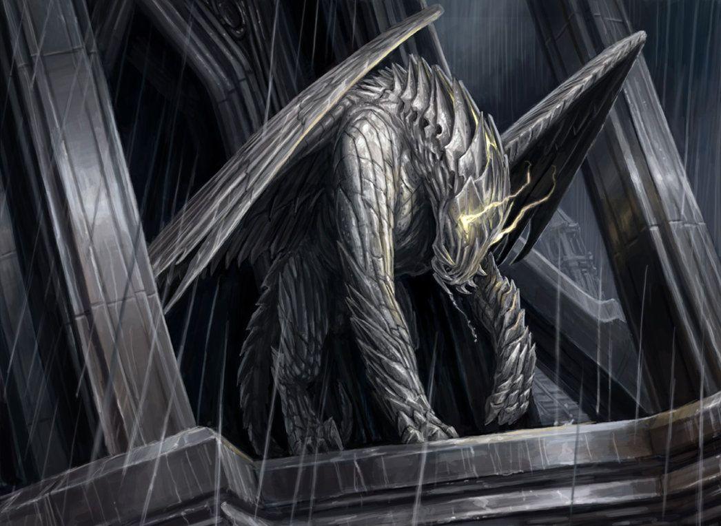 Gargoyle Sentinel Art Magic