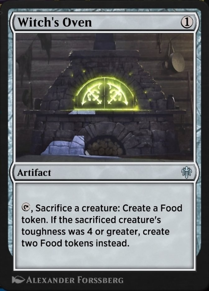 Witch's Oven Spoiler Arena Magic Throne of Eldraine