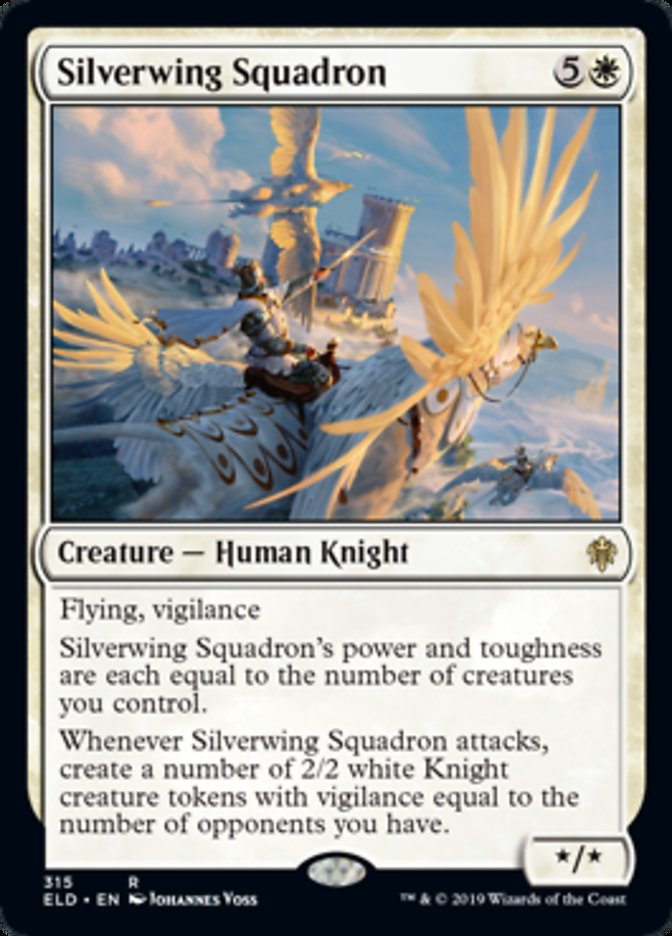 Silverwing Squadron Spoiler Magic Throne of Eldraine