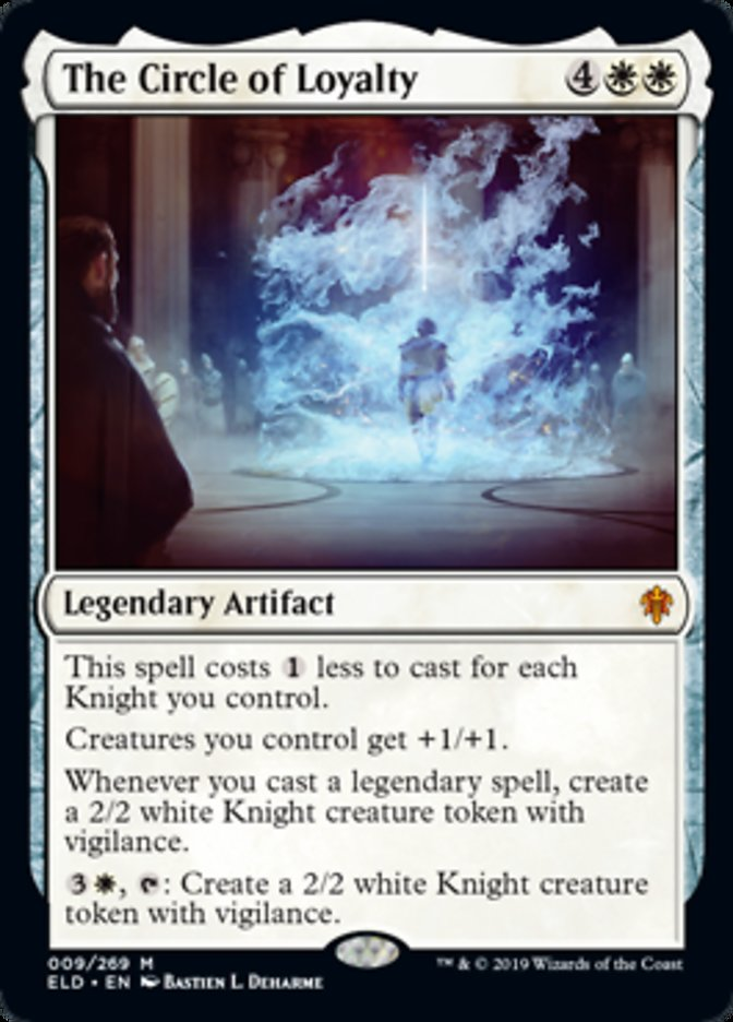 The Circle of Loyalty Spoiler Magic Throne of Eldraine