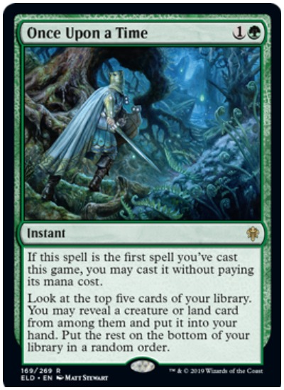 Once Upon a Time MTG Throne of Eldraine