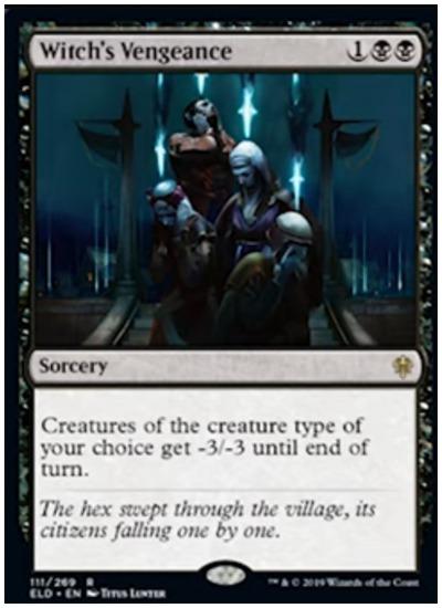 Witch's Vengeance MTG Throne of Eldraine