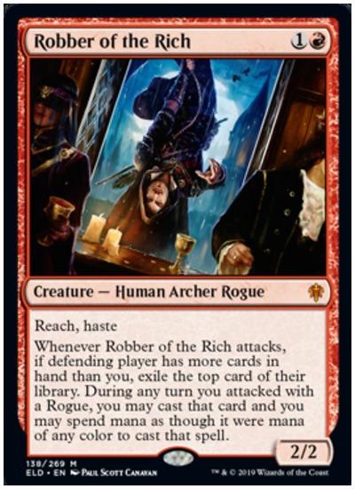 Robber of the Rich MTG Throne of Eldraine