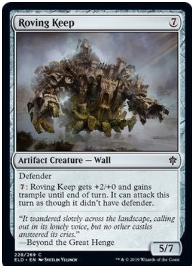 Roving Keep MTG Throne of Eldraine