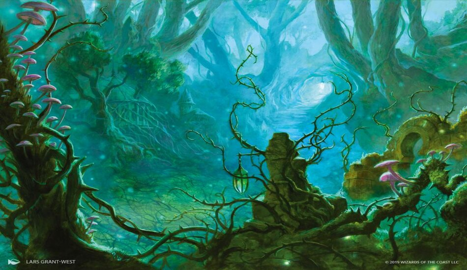 Forest Art Magic Throne of Eldraine